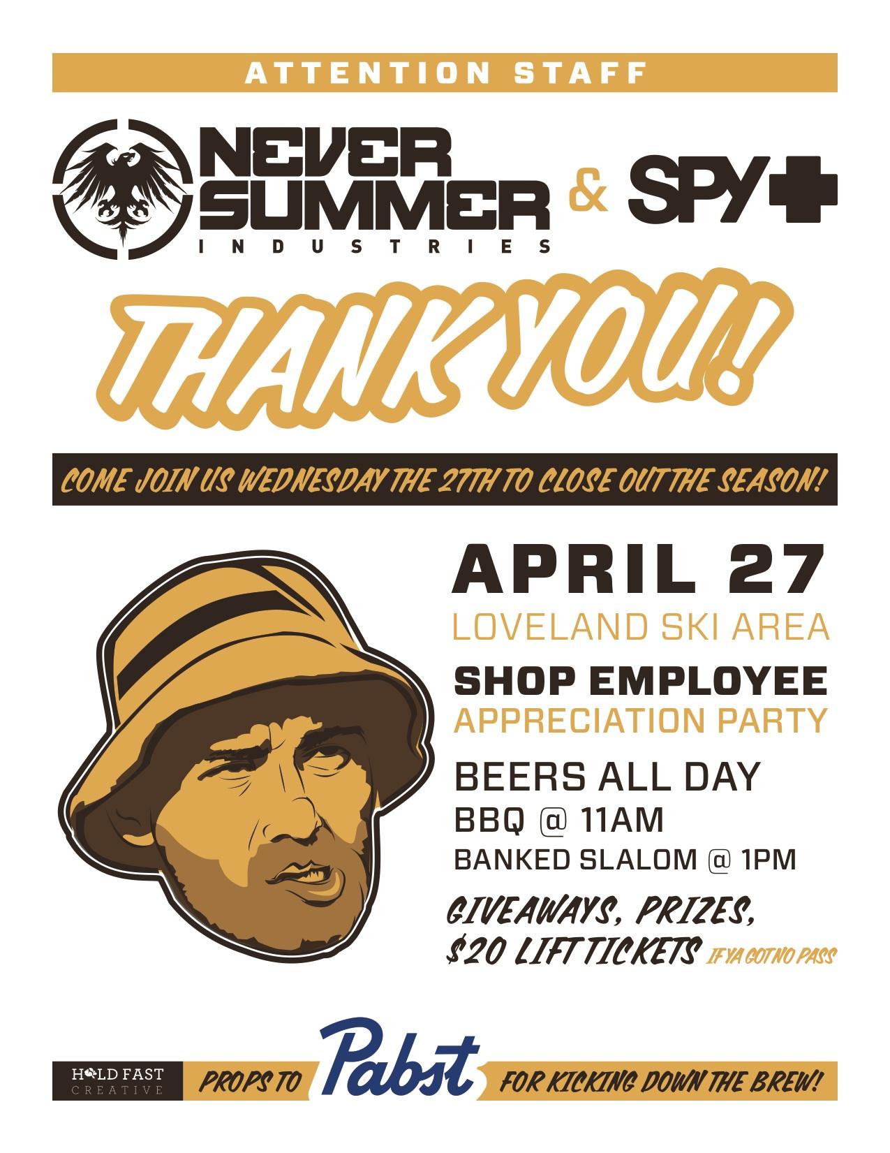 Shop Employee Appreciation Day – Colorado